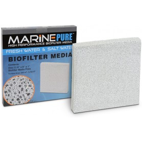 Marine Pure Biofiliter Media 8x8x1 PLATE  (case of 10)