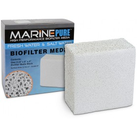 Marine Pure Biofiliter Media 8x8x4 Block  (case of 6)